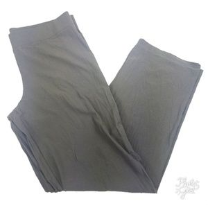 Eileen Fisher Crepe Pull On Pants Viscose Blend